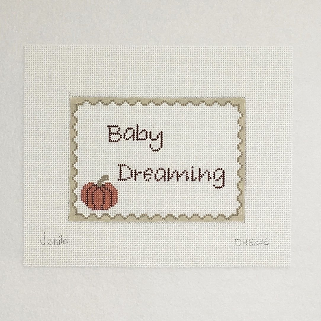 DHG232 Baby Dreaming with Pumpkin