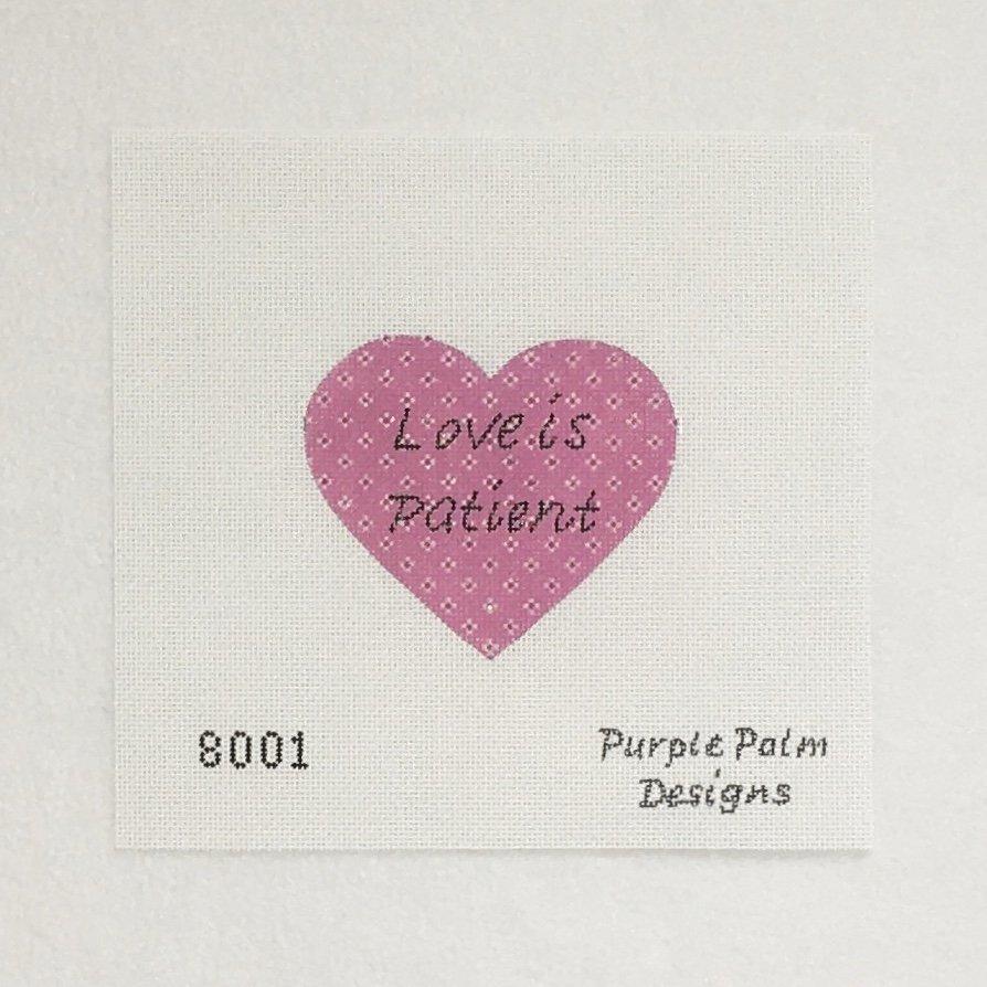 8001 Love is Patient Ornament
