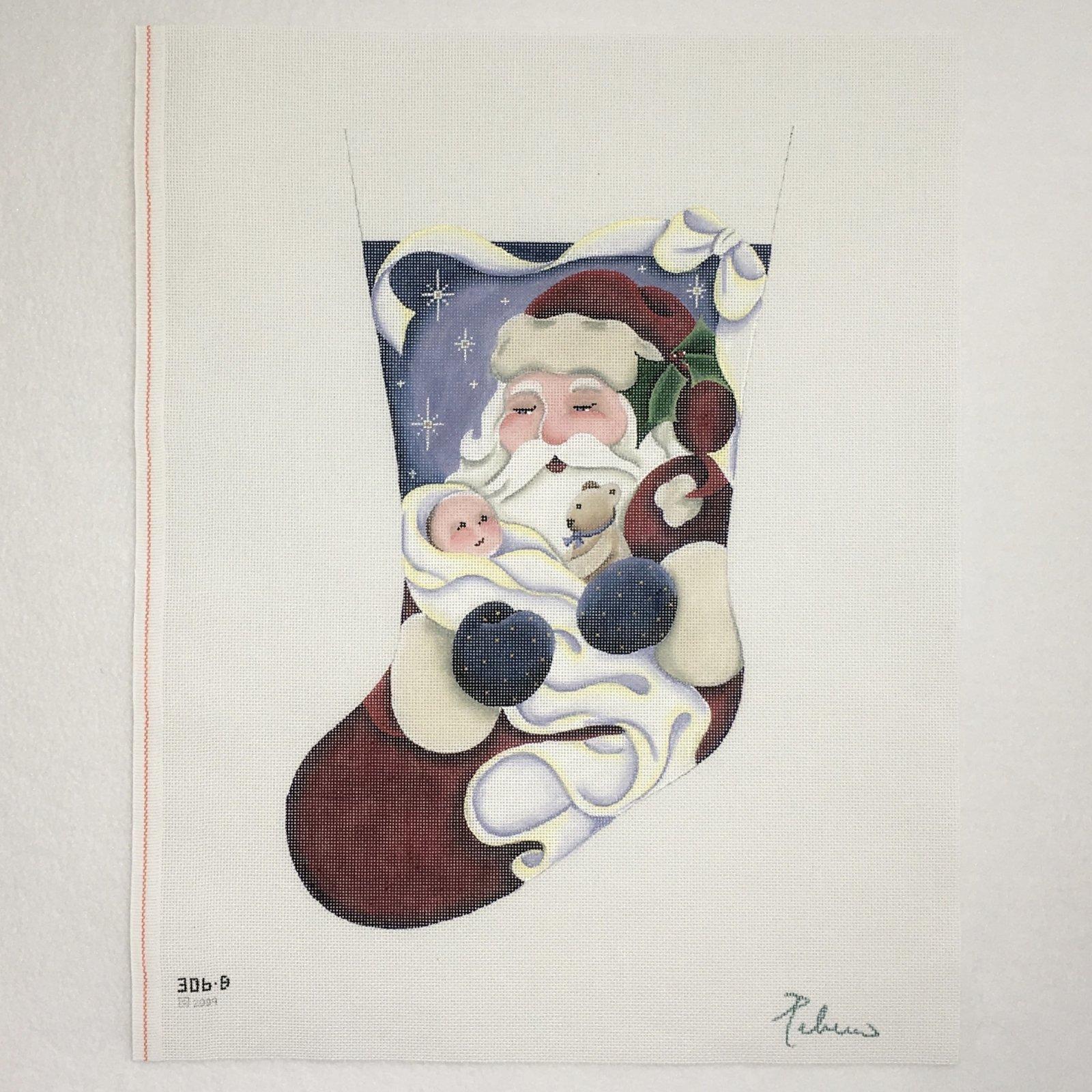306B Baby's First Boy Stocking