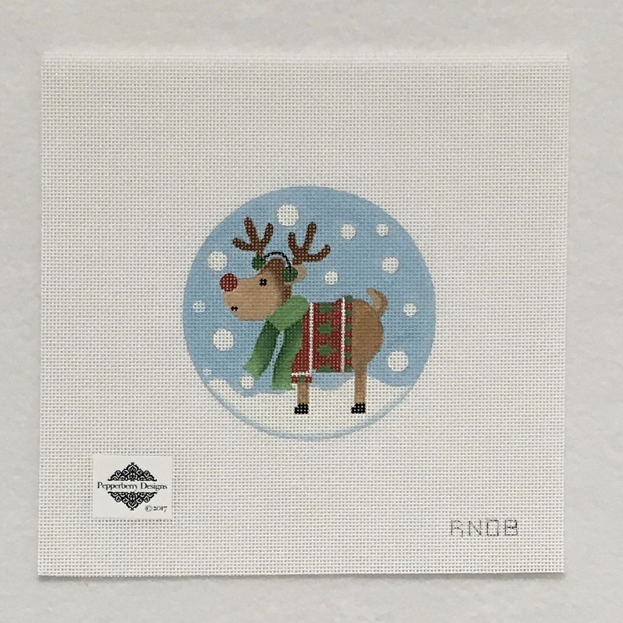 RN08 Tree Sweater Reindeer Ornament