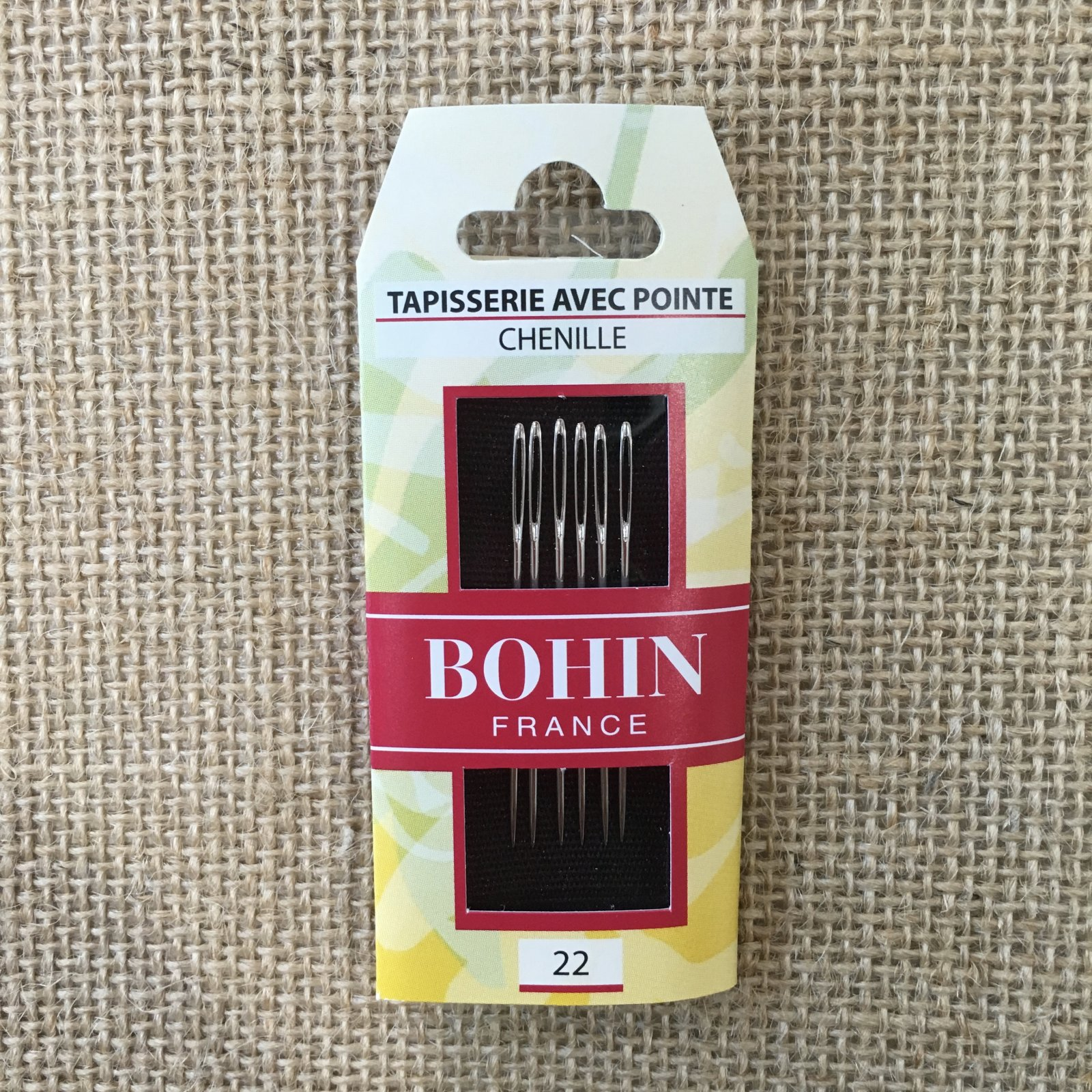 #22 Bohin Chenille Needle Package