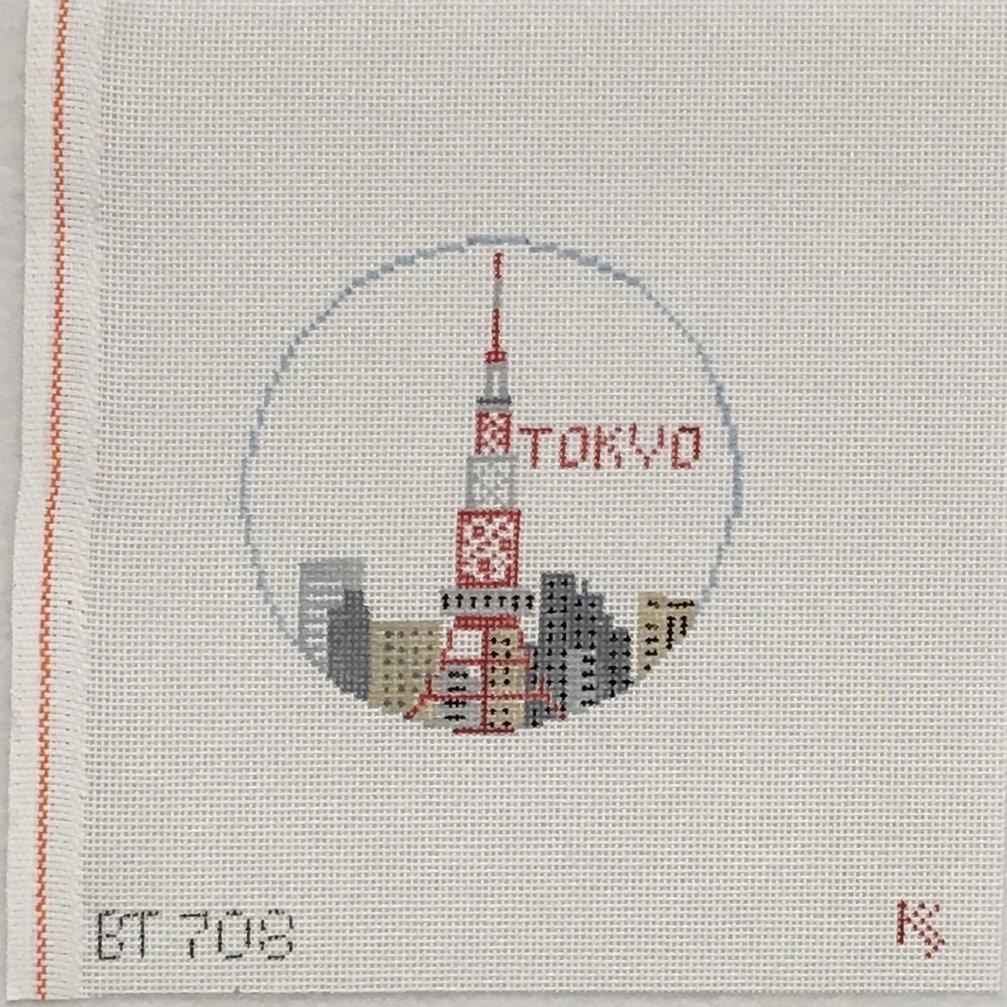 BT708 Tokyo Ornament