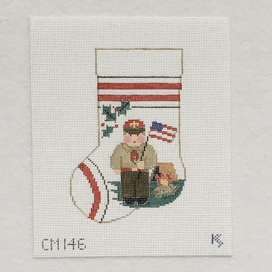 CM146 Boy Scout Sock