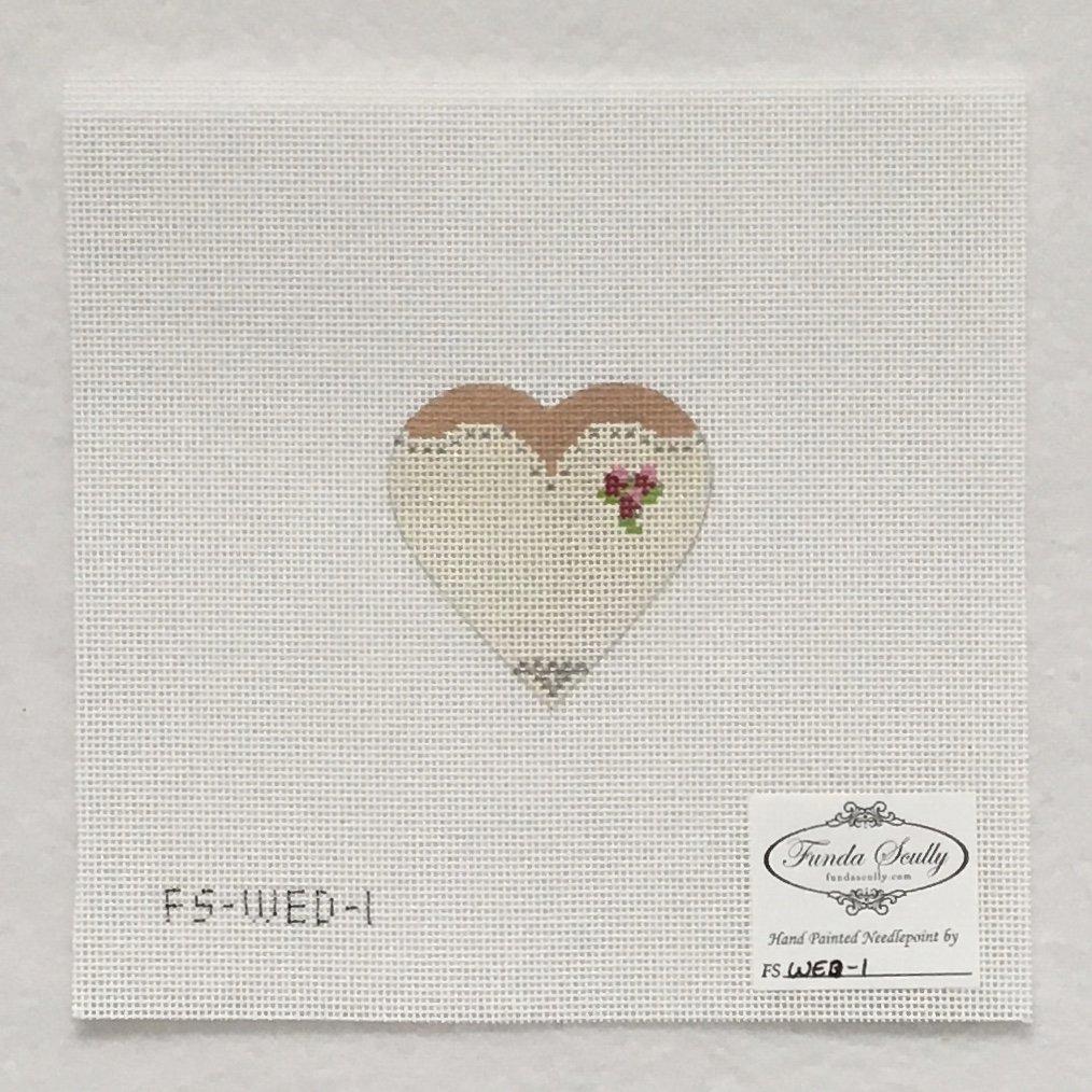 WED1 Wedding Dress Heart