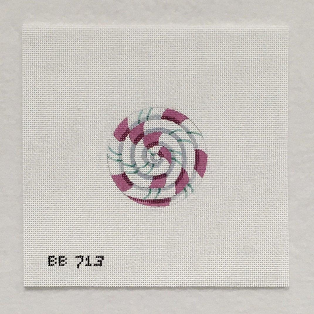 713 Pinwheel Pink and Turquoise