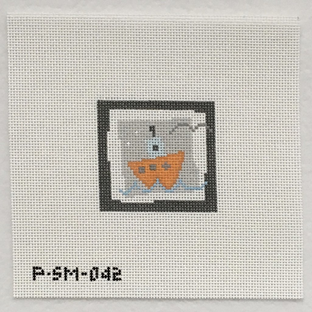 PSM042 Orange Boat
