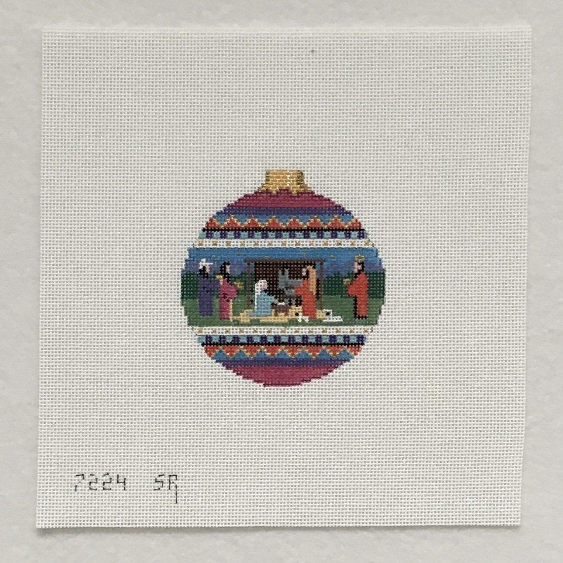 7224 Nativity Ornament