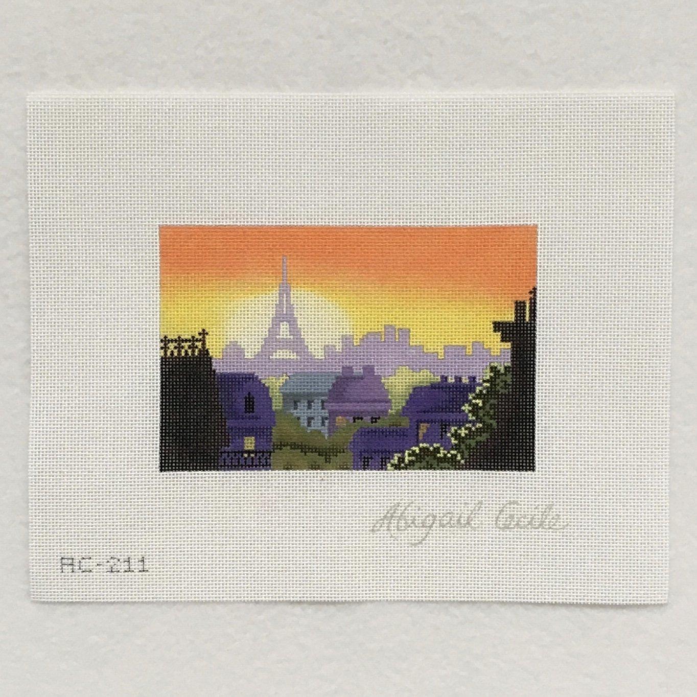 AC211 Rooftop of Paris Postcard