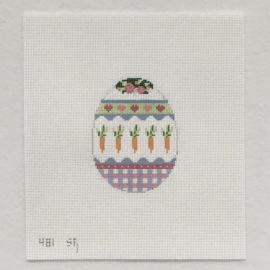 481 Carrot Band Egg