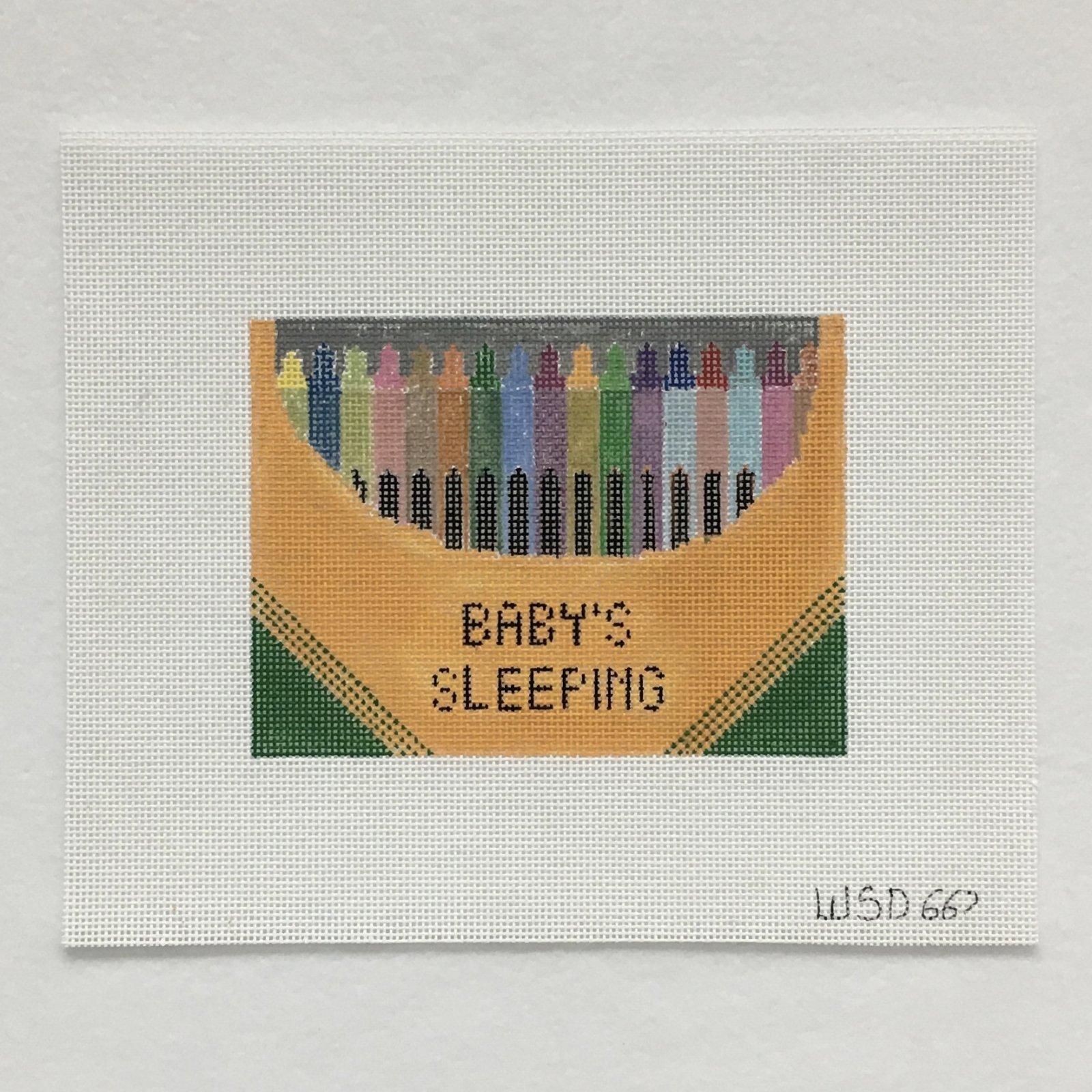 667 Crayons Baby Sleeping