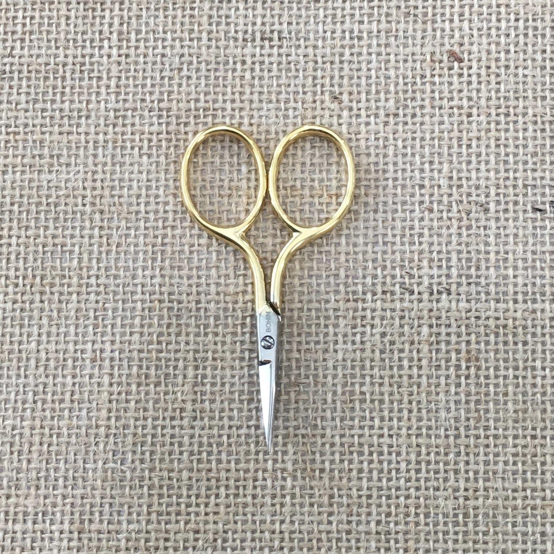 Bohin Gilted Micro Embroidery Scissors 2.75