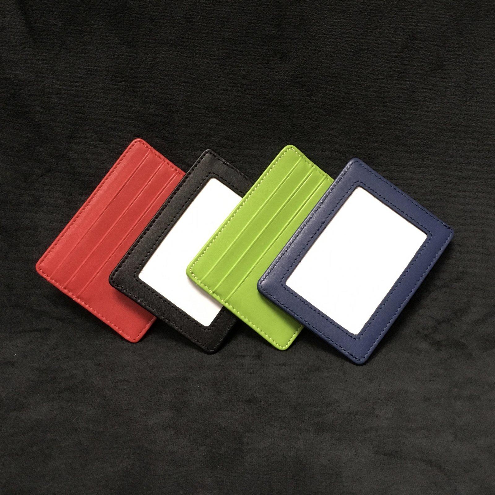 Credit Card Holder - Red