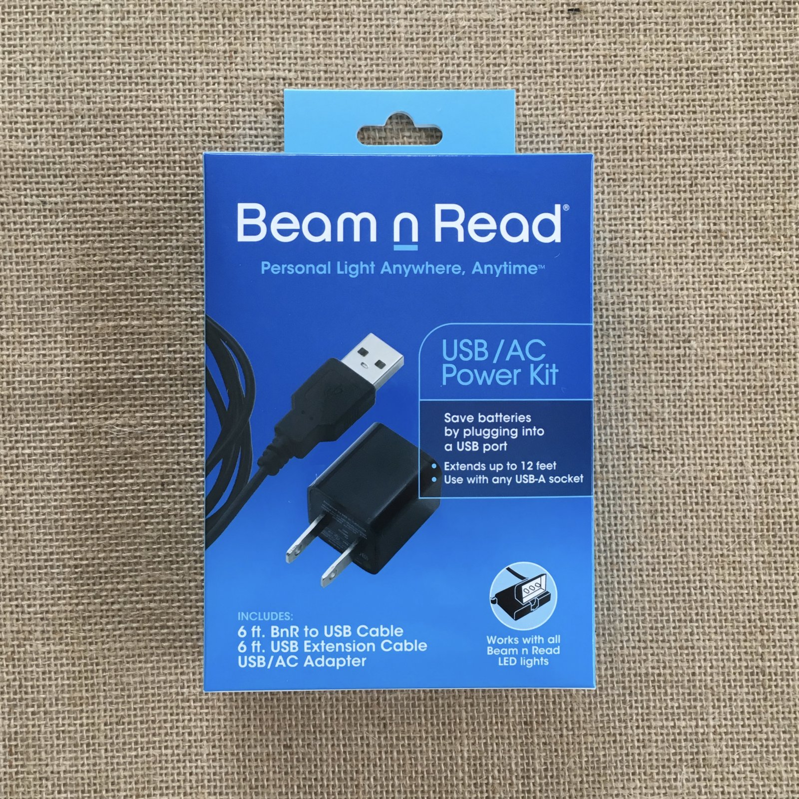 Beam n Read USB/AC Power Kit