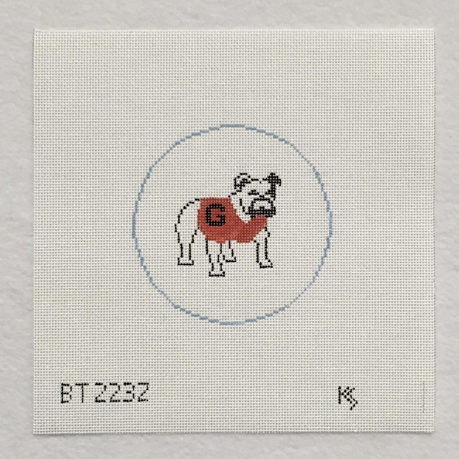 BT223Z Georgia Bulldog Round