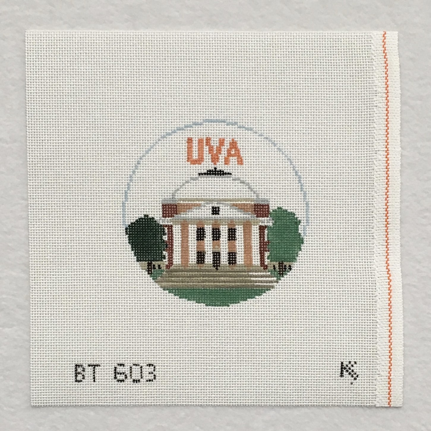 BT603 Univ of Virginia Rotunda Round