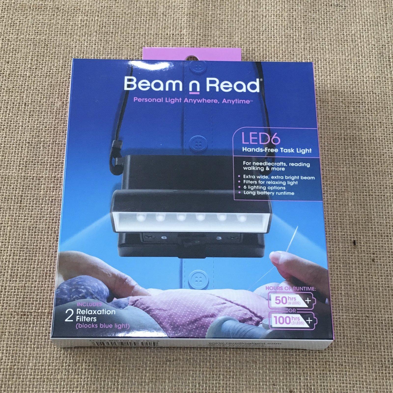 Beam n Read LED6 Hands-Free Task Light