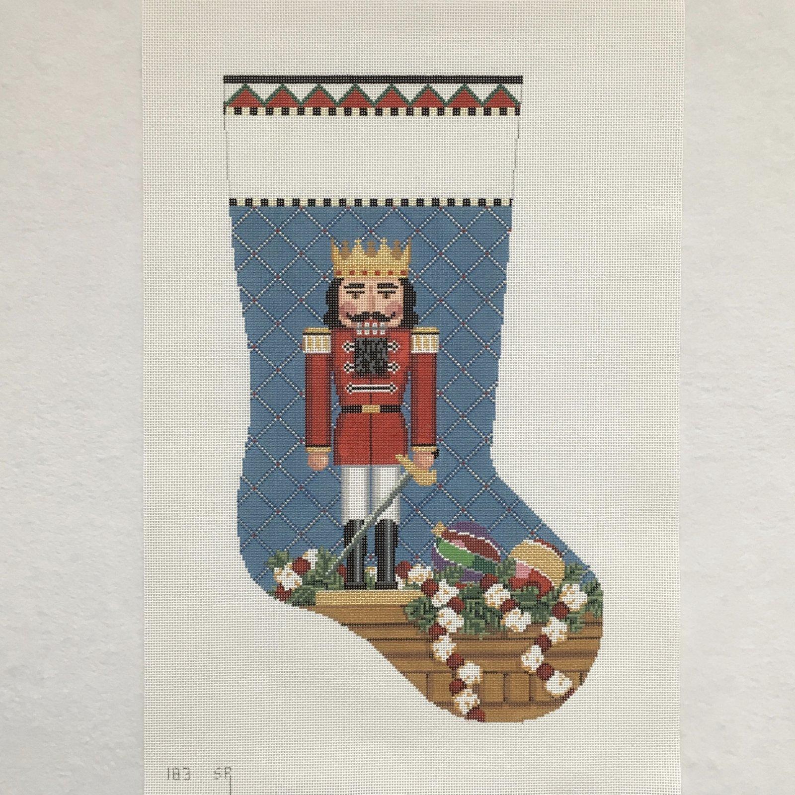 183 Nutcracker Prince Stocking