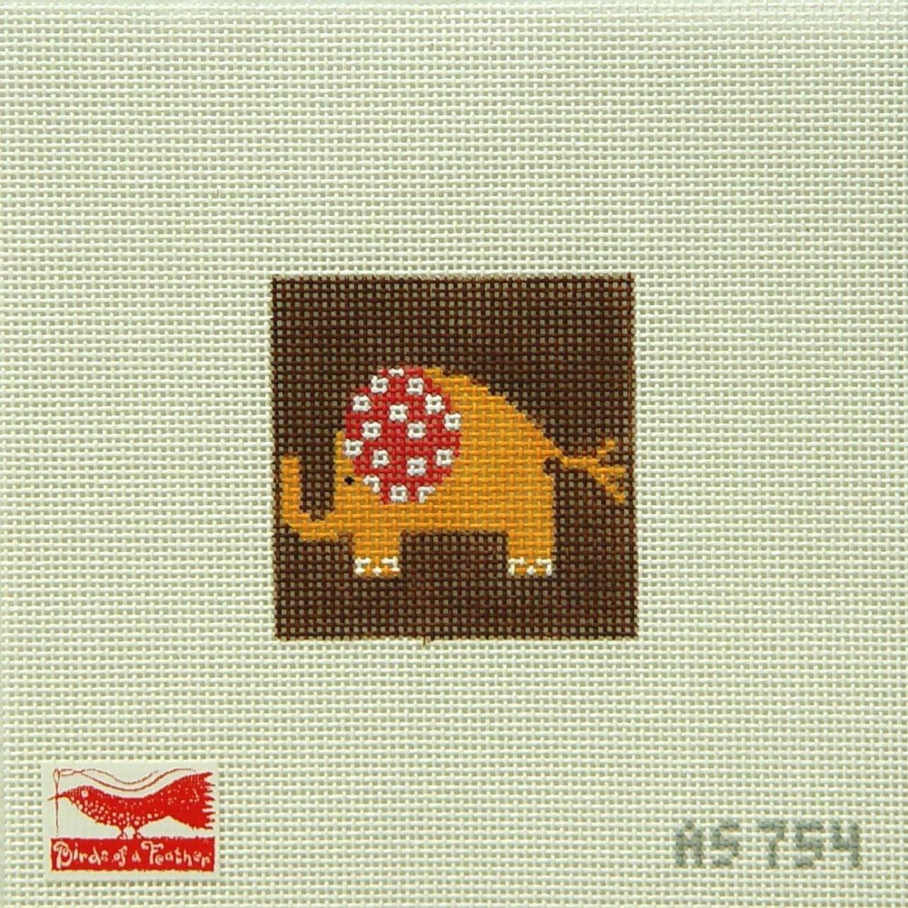 AS754 Orange Elephant