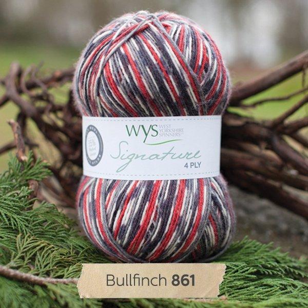 Signature 4 Ply-#861 Bullfinch