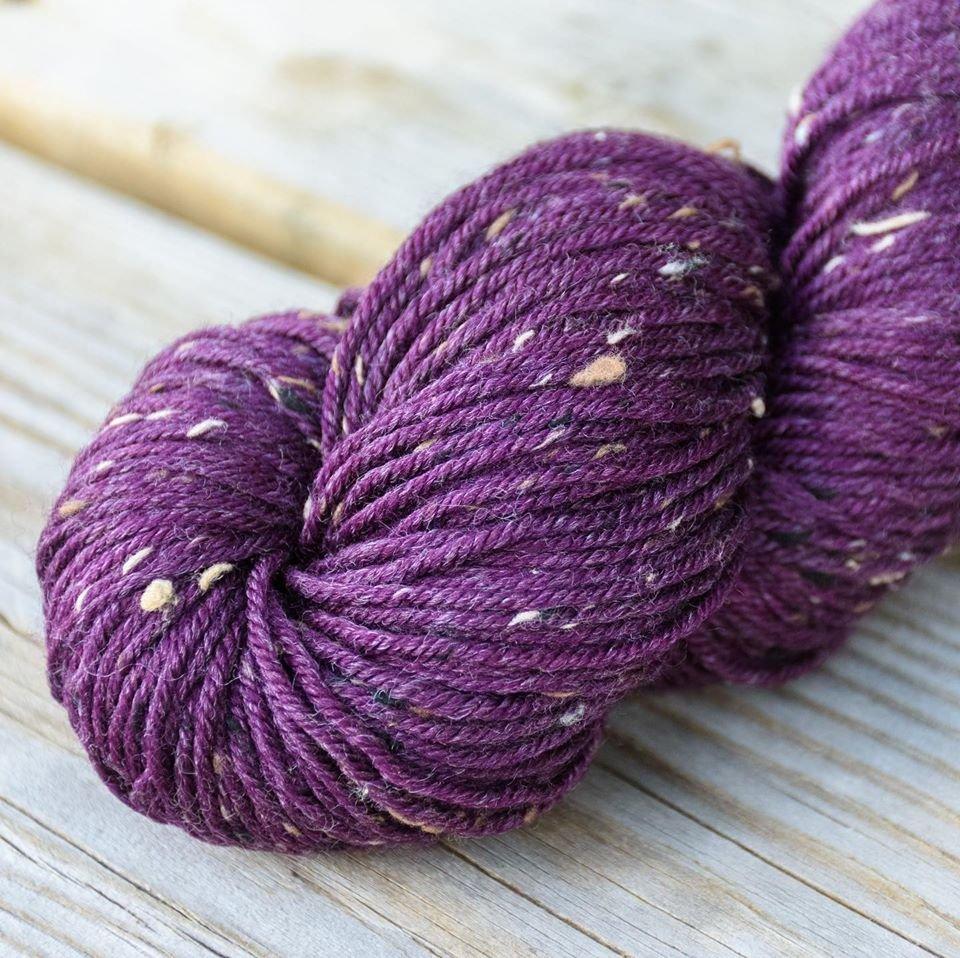 Tweed - Burgundy