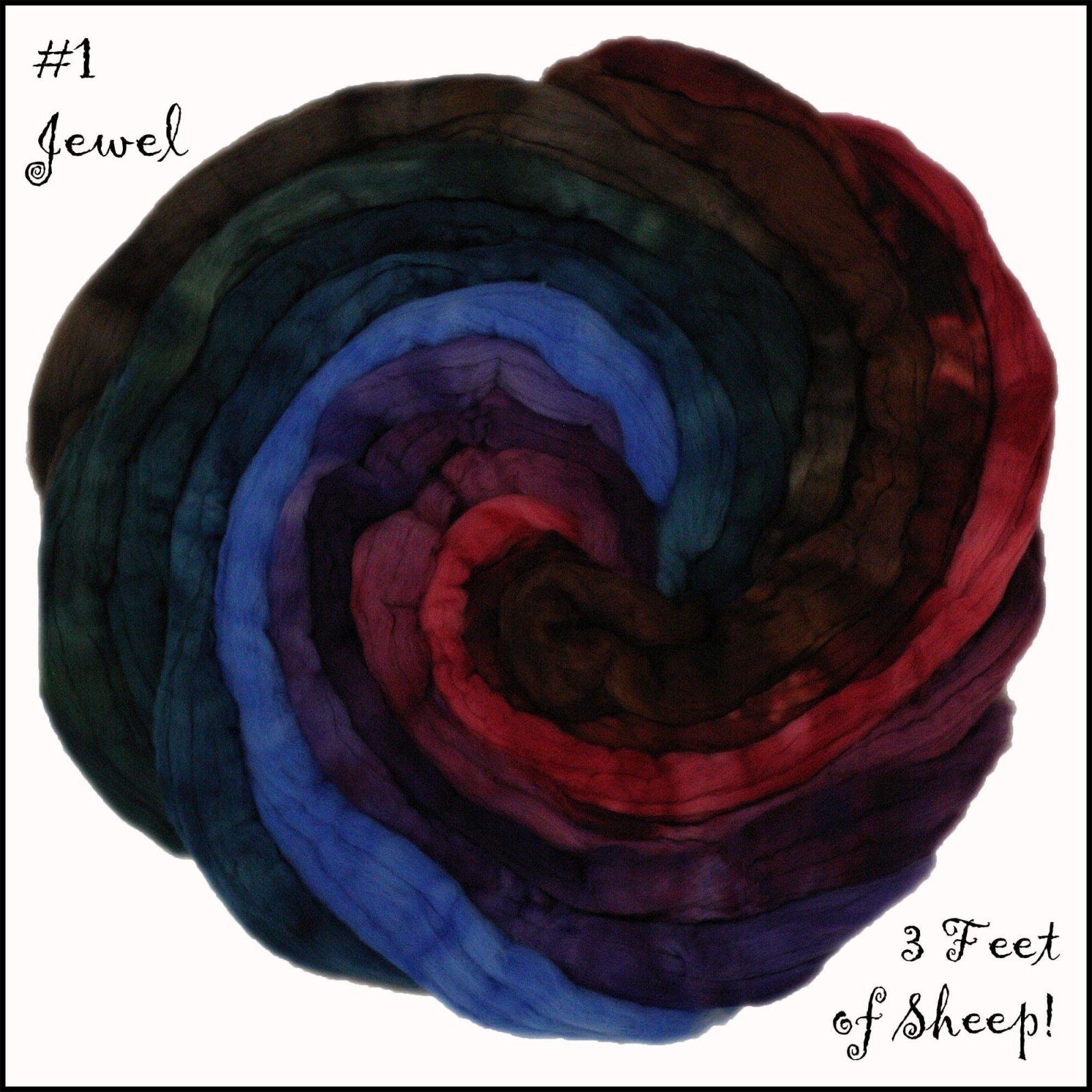 Three Feet of Sheep-#1 Gradient Jewel