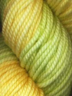 Lace Merino Chunky-#101 Yellow Orange Green