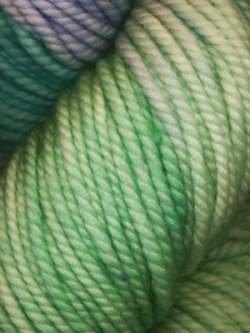 Lace Merino Chunky-#105 Green Blue Teal