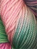 Lace Merino Chunky-#106 Pink Purple Turquoise