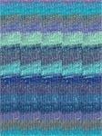 Silk Garden Sock-#S373 Blue, Sky, Royal