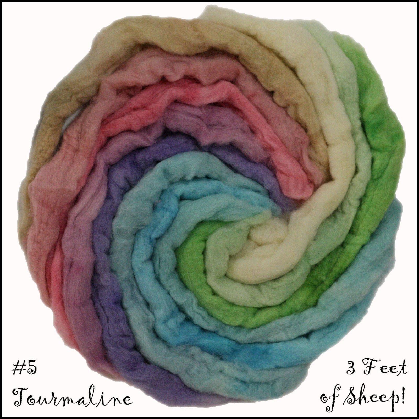 Three Feet of Sheep-#5 Tourmaline