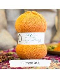 Signature 4 Ply-#358 Tumeric
