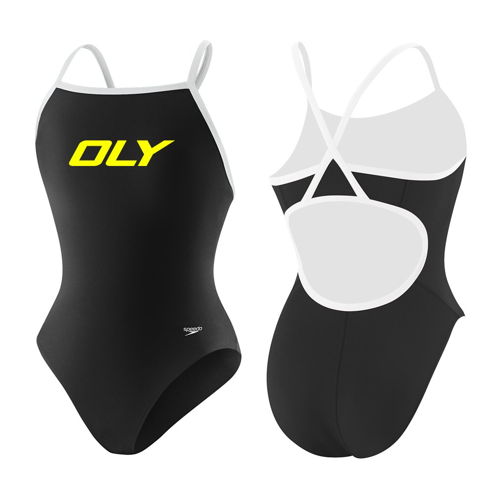 SPEEDO FLYBACK TEAM SUIT + OLY LOGO