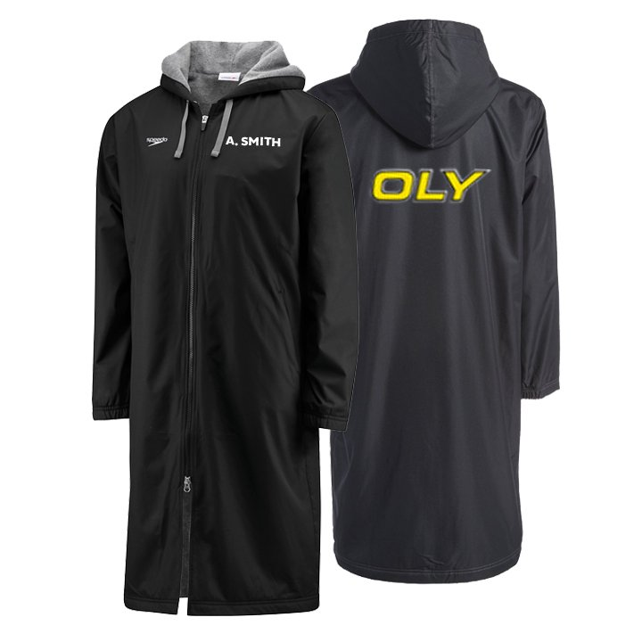 OLY SPEEDO TEAM PARKA - EMBROIDERED