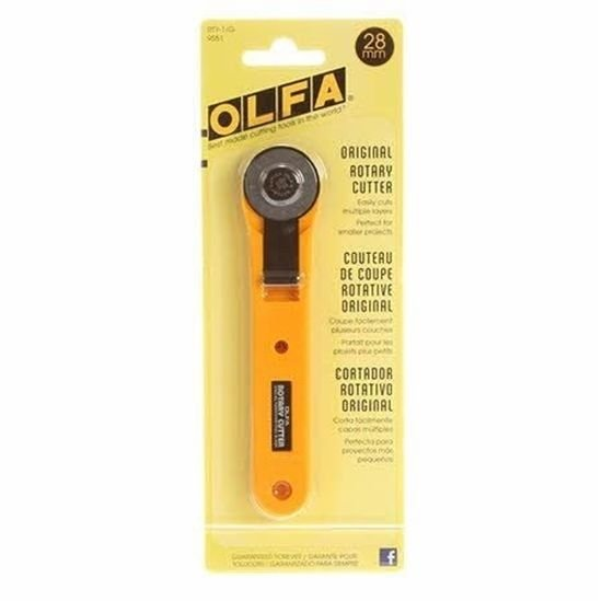 Olfa 28mm Original Rotary Cutter RTY-1/G