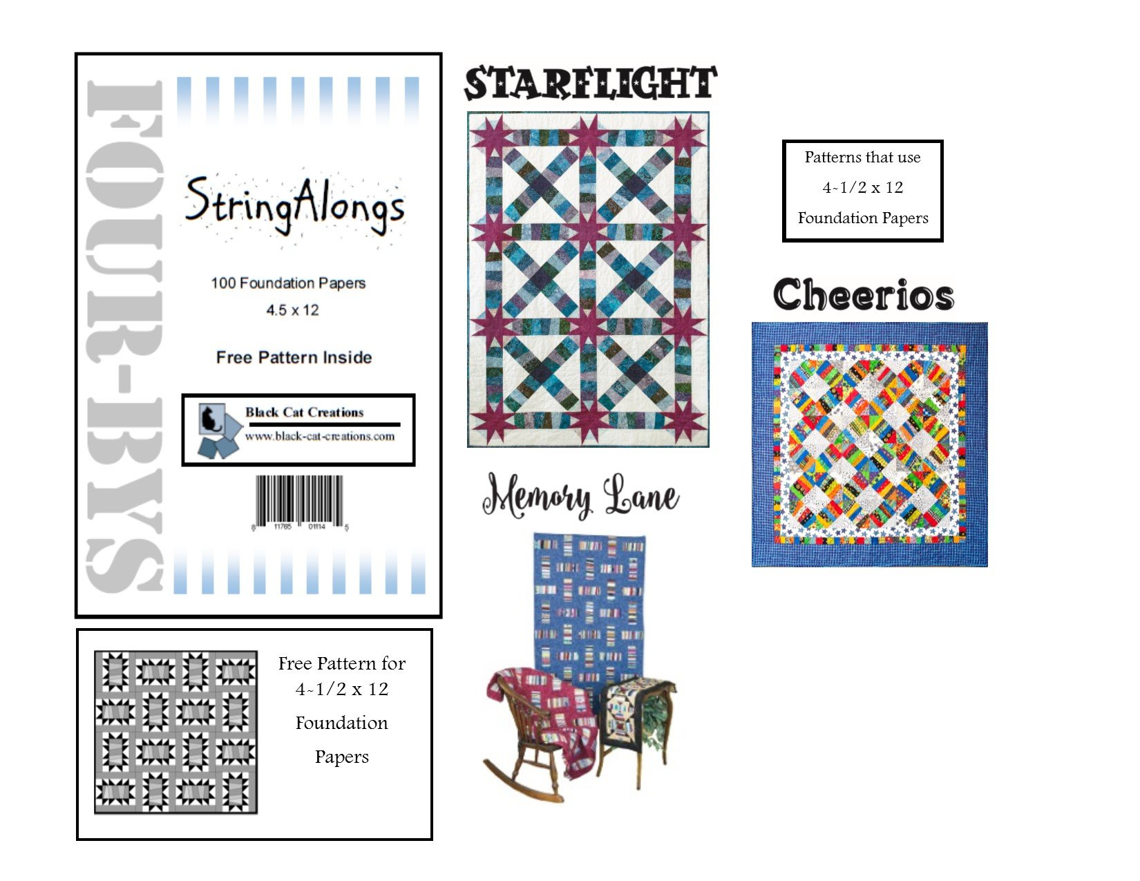 StringAlongs 4.5 x 12