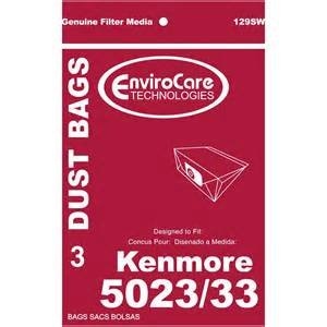 Kenmore 5023/33 Bags-3 pack