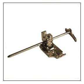 #P60307 Alphasew 1/4 Plastic Quilting Foot- Low Shank