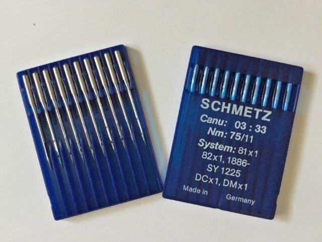 Schmetz Needles- DCx1 or DMx1 75/11 10pack