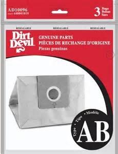 Dirt Devil AB Bags