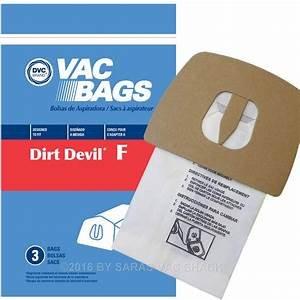 Dirt Devil F Bags