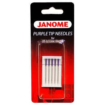 Janome Needle- Purple Tip 5 pack