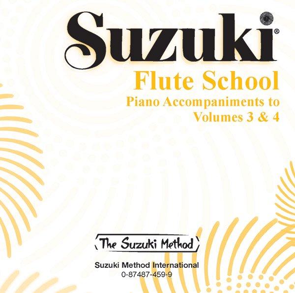 Suzuki Flute School CD, Volume 3 & 4 Piano Acc.
