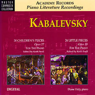 Kabalevsky's 30 Children's Pieces & 24 Little Pieces for the Piano