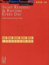 Sight Reading and Rhythm Every Day Book 2A