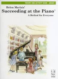 Helen Marlais' Succeeding at the Piano Grade 1 Theory and Activity book