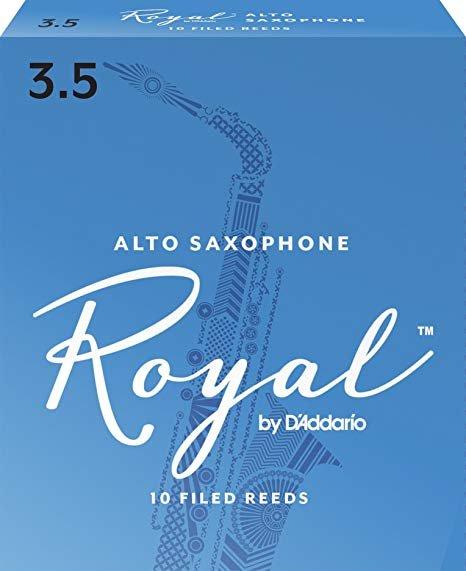 Individual Rico Royal Baritone Sax 3.5