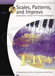 Hal Leonard Scales Patterns and Improvs Book 2