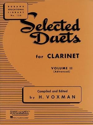 Rubank Selected Duets for Clarinet Volume 2