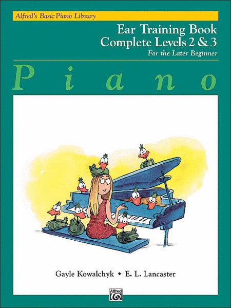 Alfred's Basic Paino Library Ear Training Complete levels 2 & 3