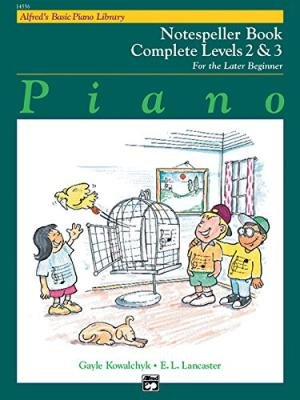 Alfred's Basic Piano Library: Notespeller Books Complete Levels 2 & 3